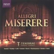 Tenebrae - Allegri Miserere, CD