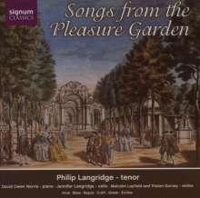 Philip Langridge - Songs from the Pleasure Garden, CD