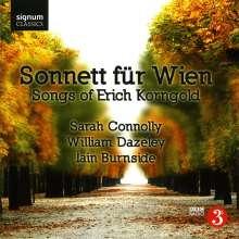 "Erich Wolfgang Korngold (1897-1957): Lieder ""Sonnett für Wien"", CD"