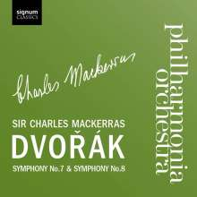 Antonin Dvorak (1841-1904): Symphonien Nr.7 & 8, CD