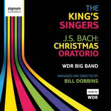 Johann Sebastian Bach (1685-1750): Weihnachtsoratorium BWV 248 (Version für Big Band), 2 CDs
