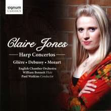 Claire Jones - Harp Concertos, CD