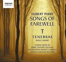 Hubert Parry (1848-1918): Songs of Farewell, CD