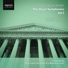 Charles-Marie Widor (1844-1937): Die Orgelsymphonien Vol.1, CD