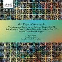 Max Reger (1873-1916): Orgelwerke, 2 CDs