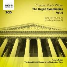 Charles-Marie Widor (1844-1937): Die Orgelsymphonien Vol.4, 2 CDs