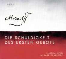 Wolfgang Amadeus Mozart (1756-1791): Die Schuldigkeit des ersten Gebots KV 35, 2 CDs