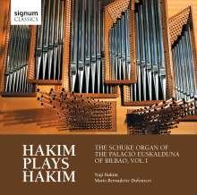 Naji Hakim (geb. 1955): Orgelwerke - Hakim plays Hakim, CD