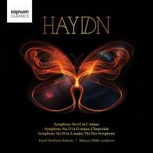 Joseph Haydn (1732-1809): Symphonien Nr.52,53,59, CD