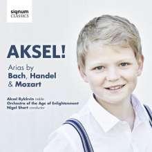 Axel Rykkvin - Arien von Bach, Händel, Mozart, CD