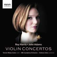 Roy Harris (1898-1979): Violinkonzert, CD