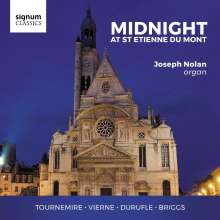 Joseph Nolan - Midnight At St. Etienne Du Mont, CD
