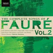 Gabriel Faure (1845-1924): Sämtliche Lieder Vol.2, CD
