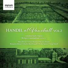 Georg Friedrich Händel (1685-1759): Händel at Vauxhall Vol.2, CD