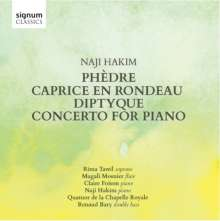 Naji Hakim (geb. 1955): Klavierkonzert (Version für Klavier & Streichquintett), CD