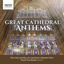 The Girls and Men of Canterbury Cathedral Choir - Great Cathedral Anthems, CD
