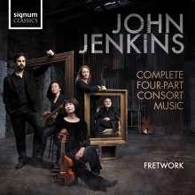 John Jenkins (1592-1678): Consort Music, 2 CDs