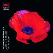 Ralph Vaughan Williams (1872-1958): Messe g-moll, CD