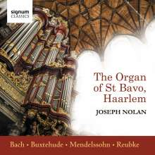 Joseph Nolan spielt die Orgel von St. Bavo in Haarlem, CD
