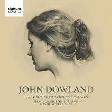 John Dowland (1562-1626): First Booke of Songes Nr.1-21, CD