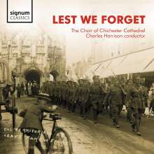 Chichester Cathedral Choir - Lest We Forget, CD