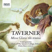 John Taverner (1490-1545): Missa Gloria tibi trinitas, CD