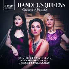 Lucy Crowe & Mary Bevan - Händel's Queens, 2 CDs