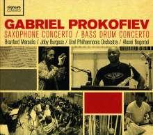 Gabriel Prokofieff (geb. 1975): Saxophonkonzert, CD