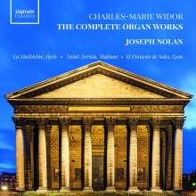 Charles-Marie Widor (1844-1937): Orgelsymphonien Nr.1-10, 8 CDs
