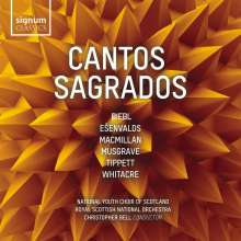 National Youth Choir of Scotland - Cantos Sagrados, CD