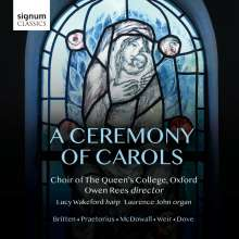 Queen's College Choir Oxford - A Ceremony of Carols, CD