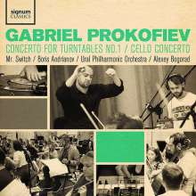 Gabriel Prokofiev (geb. 1975): Concerto for Turntables & Orchestra Nr.1, CD