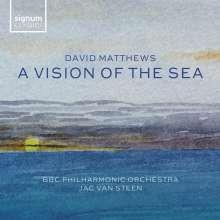 David Matthews (geb. 1943): Symphonie Nr.8, CD