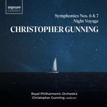 Christopher Gunning (geb. 1944): Symphonien Nr.6 & 7, CD