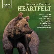 Roxanna Panufnik (geb. 1968): Heartfelt für Streichquartett, CD