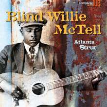 Blind Willie McTell: Atlanta Strut (180g) (Limited-Edition) (Blue Vinyl), LP