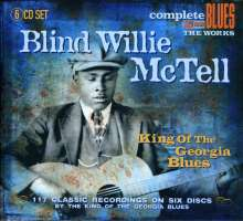 Blind Willie McTell: King Of The Georgia Blu, 6 CDs