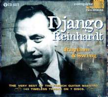 Django Reinhardt (1910-1953): Rhythm & Swing, 7 CDs