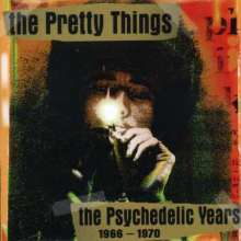 The Pretty Things: The Psychedelic Years 1966 - 1970, 2 CDs
