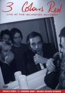 3 Colours Red: Live At The Islington Academy, DVD
