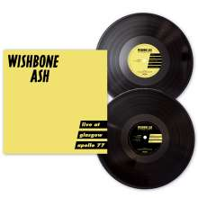 Wishbone Ash: Live At Glasgow Apollo 77 (remastered) (Limited-Edition), 2 LPs