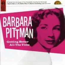 Barbara Pittman: Getting Better All The Time, CD