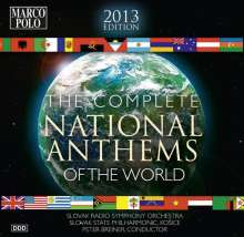 The Complete National Anthems of the World (2013 Edition), 10 CDs