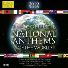The Complete National Anthems of the World (2019 Edition), 10 CDs