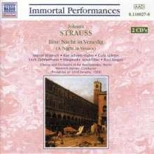 Johann Strauss II (1825-1899): Eine Nacht in Venedig, 2 CDs