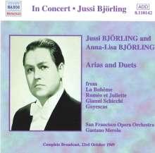 Jussi & Anna-Lisa Björling - Arias & Duets, CD