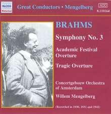 Johannes Brahms (1833-1897): Symphonien Nr.1 & 3, CD