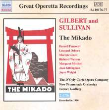 The Mikado, 2 CDs