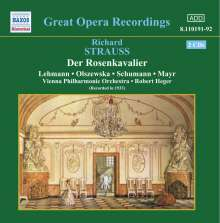 Richard Strauss (1864-1949): Der Rosenkavalier, 2 CDs
