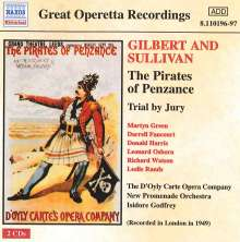 Arthur Sullivan (1842-1900): The Pirates of Penzance, 2 CDs